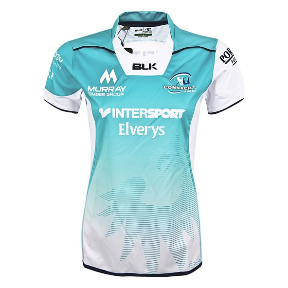 BLK Connacht 2017/18 Women's Away Jersey, White