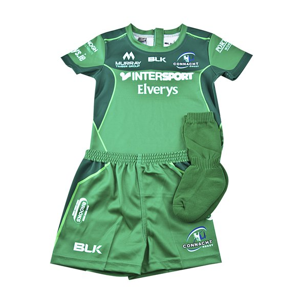 BLK Connacht 2017/18 Home Toddler Kit, Green