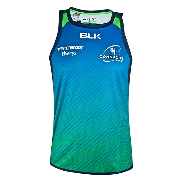 BLK Connacht 17 Training Singlet Blue