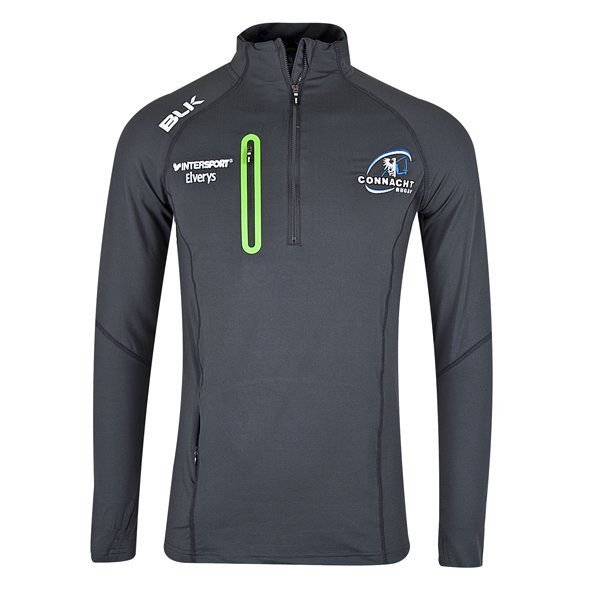 BLK Connacht 17 Motion QZ Top Grey