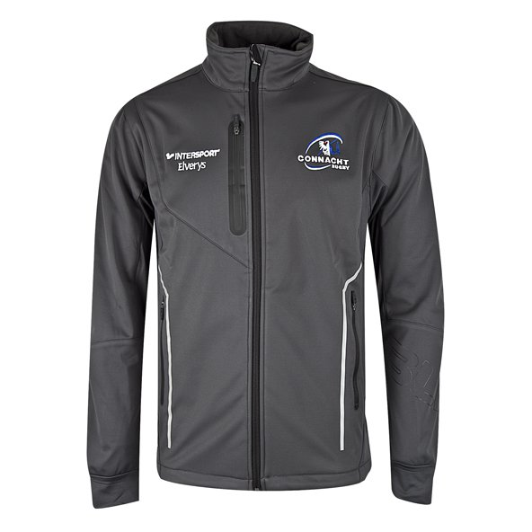 BLK Connacht 17 Carbon Pro Jacket Grey