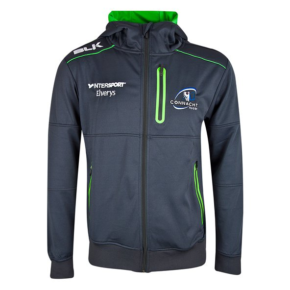 BLK Connacht 17 QZ Perform Hoody Grey