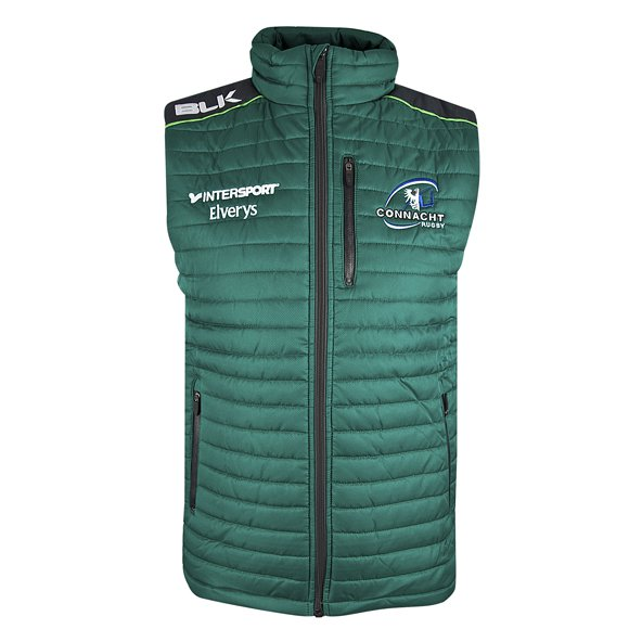 BLK Connacht 17 Gilet Green