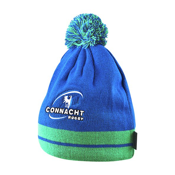BLK Connacht 17 Euro Bobble Beanie Royal