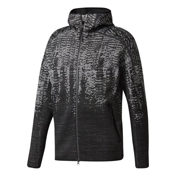 adidas Z.N.E. Pulse Men's Full Zip Hoody, Black