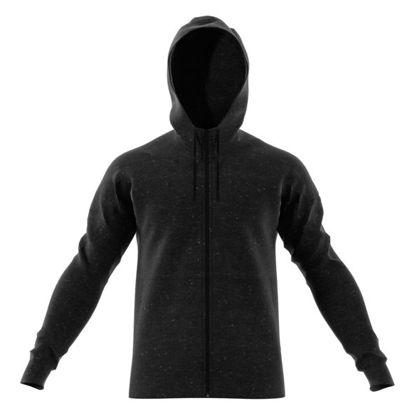 adidas Stadium FZ Mens Hoody Black