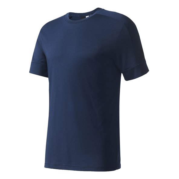 adidas Stadium Mens Tee Navy/Black