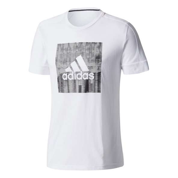 adidas ID Flash Mens Tee White/Black