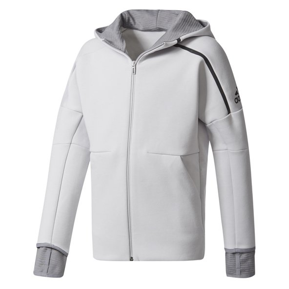 adidas Zne Pulse 2 Boys Hoody Grey