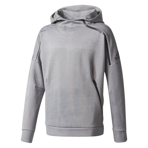 adidas Zne Pulse Boys OH Hoody Grey/Blk