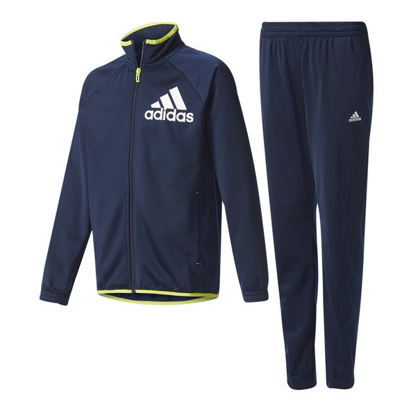 adidas Tasto Boys Knit Track Suit Navy
