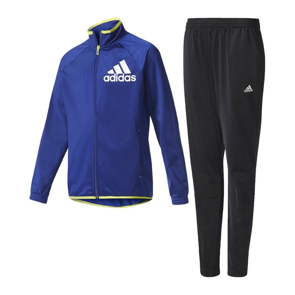 adidas Tasto Boys Knit Track Suit Ink/Bl