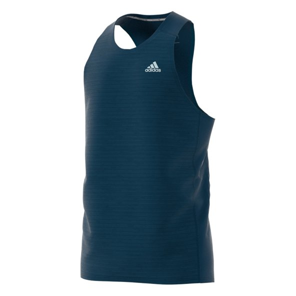 adidas RS Mens Singlet Blue