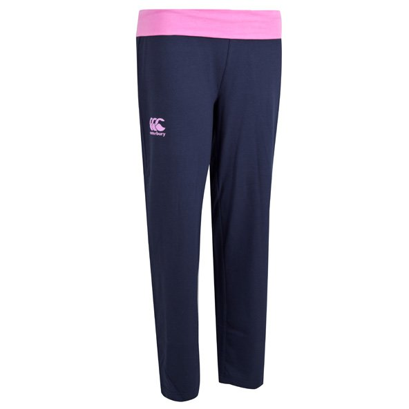 Canterbury Roll Over Flc Girl Pant Peac