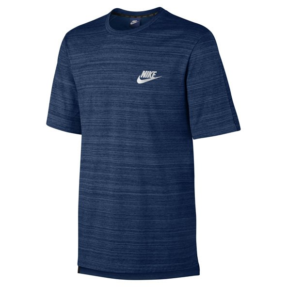 Nike Swoosh Advance 15 Men's Knit T-Shirt, Blue