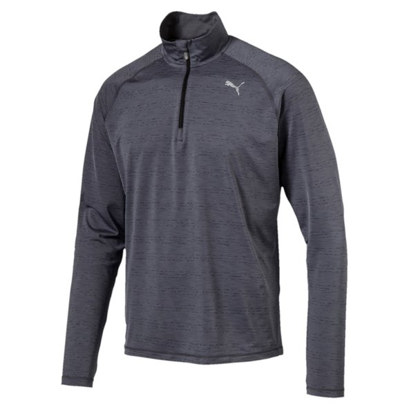 Puma Core-Run LS HZ  Mens Tee Grey