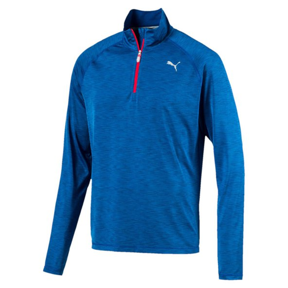 Puma Core-Run LS HZ  Mens Tee Blue