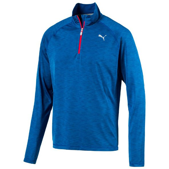 Puma Core-Run LS Men's ½ Zip Top, Blue