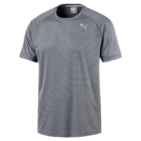 Puma Core-Run S/S Mens Tee Grey