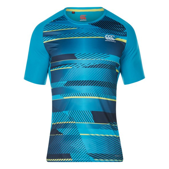 Canterbury Vapodri Poly Gph Men Tee Sea