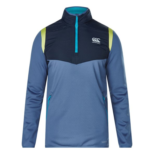 Canterbury Therm 1/4Z Run Mens Top Eclip