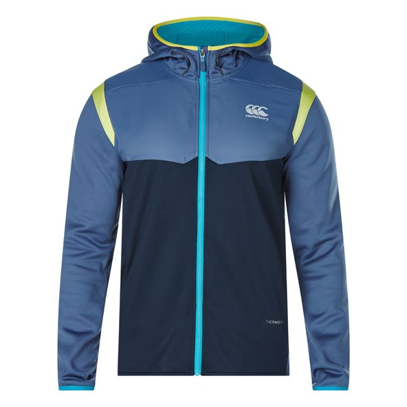 Canterbury Therm FZ Flc Mens Hoody Indig