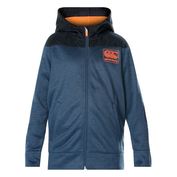 Canterbury Vaposh FZ Boys Hoody Denim