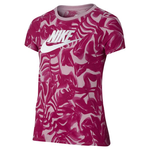 Nike Futura Girls' T-Shirt, Purple