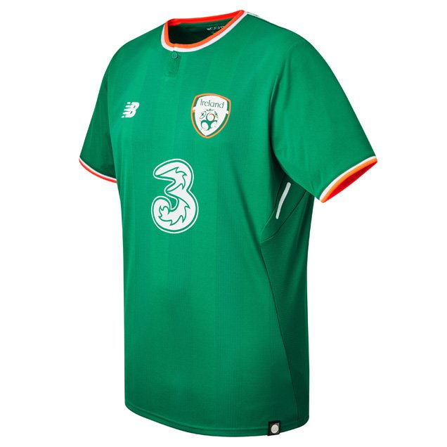 New Balance Ireland 2017/18 Home Jersey, Green