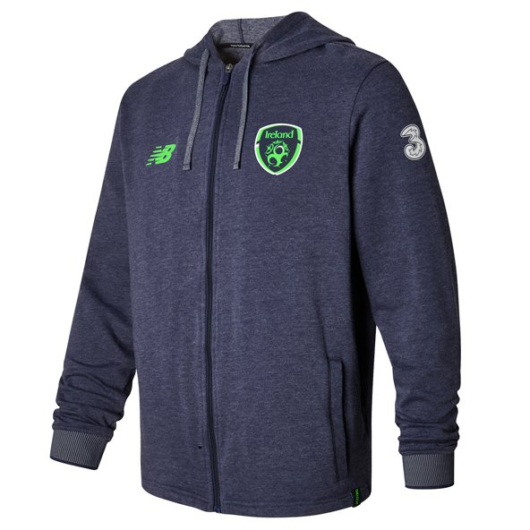 NB FAI 2017 Elite Travel Hoody, Navy