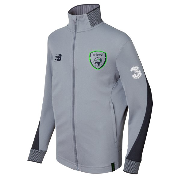 NB FAI 2017 Elite Training Presentation Jacket, Grey