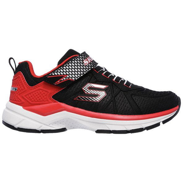 Skechers Ultrasonix Junior Boys' Trainer, Black