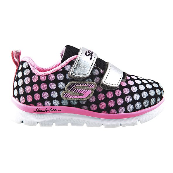Skechers Lite Inf Girls Fw Grey/Pink