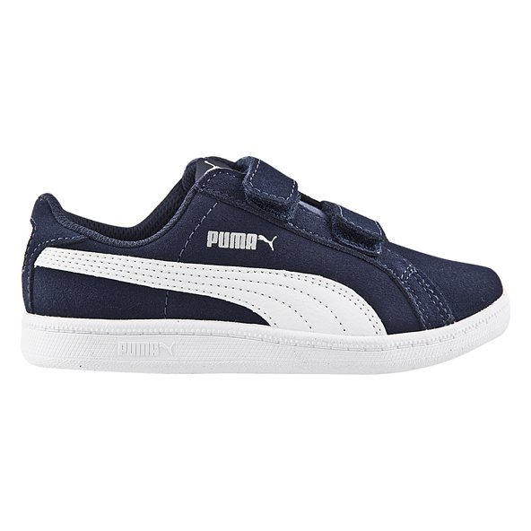 Puma Smash Fun Sd Jnr Boys Fw Nvy/Wh