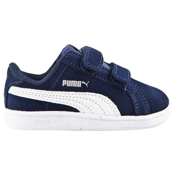 Puma Smash FUN SD Infant Boys' Trainer, Navy
