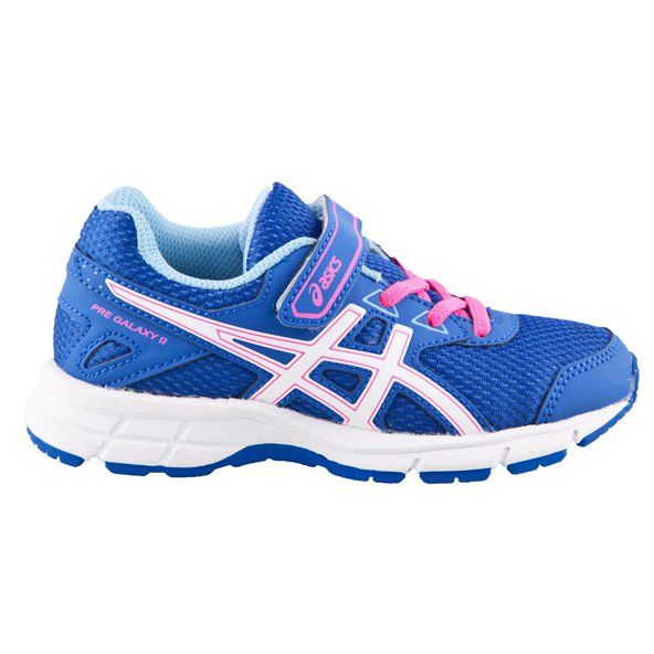 Asics Pre Galaxy 9 Junior Girls' Trainer, Blue