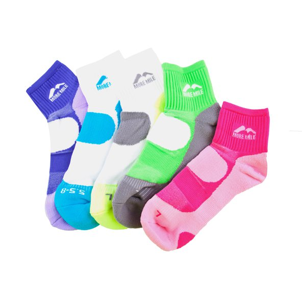 More Running 5pk Sock Wmns Assosted
