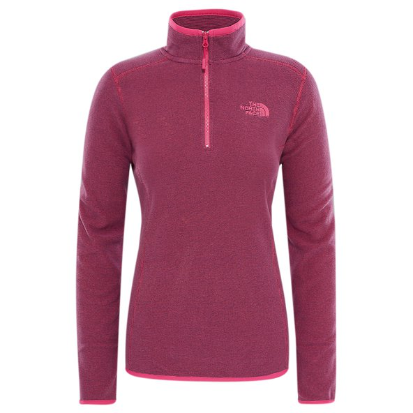 The North Face Glacier ¼ Zip Women's Jacket, Pink