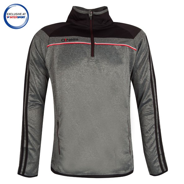 O'Neills Valencia Men's ½ Zip Squad Top, Grey