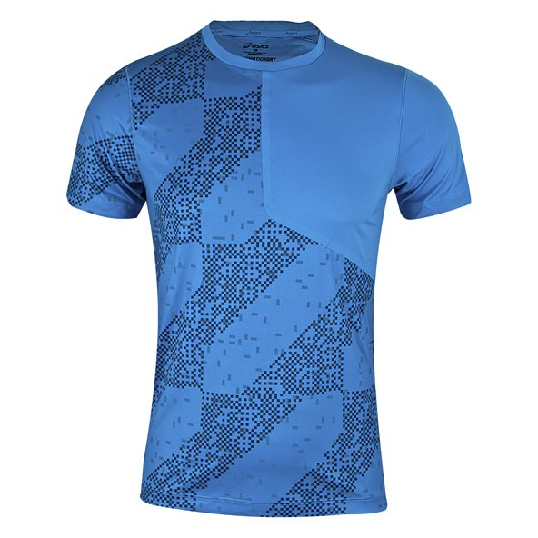 Asics Run-Lite Show Men's T-Shirt, Blue
