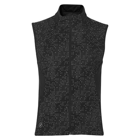 Asics Lite-Show Men's Running Vest, Black