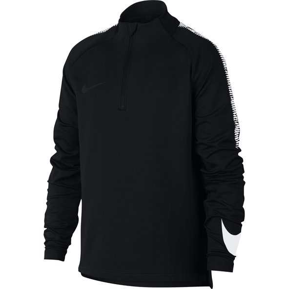 Nike Dry Sqd Dril Boys Top Black/Wht