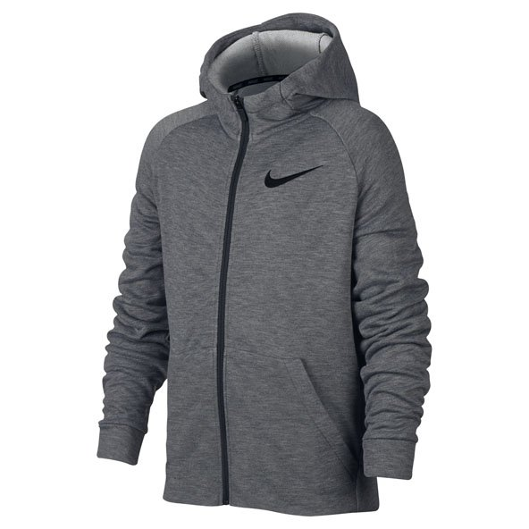 Nike Dry Fleece FZ Boys Hoody Carbon/Htr