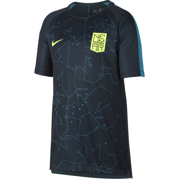Nike Dry Sqd GX Boys SS Top Navy/Blue