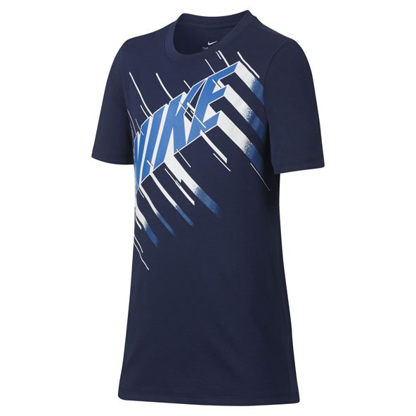 Nike Dry Speed Block Boys Tee Blue