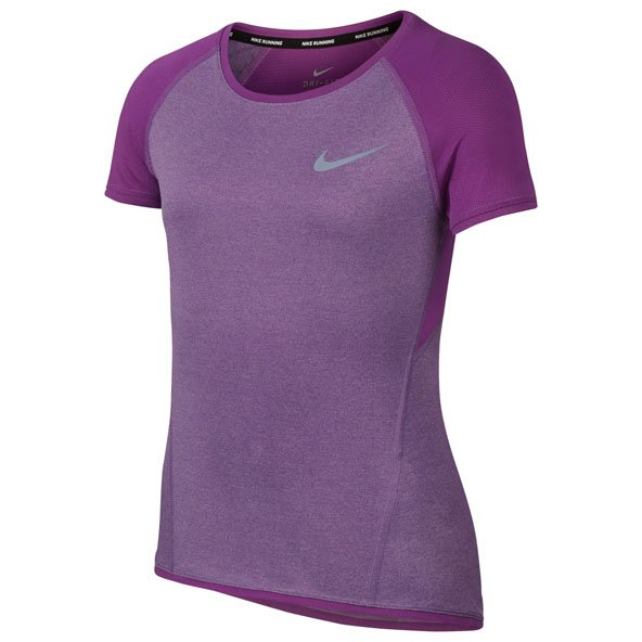 Nike Dry Run Girls SS Top Berry