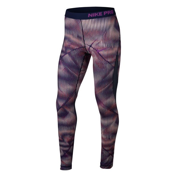 Nike Hyper Cool Aop1 Girl Tight Sunset T