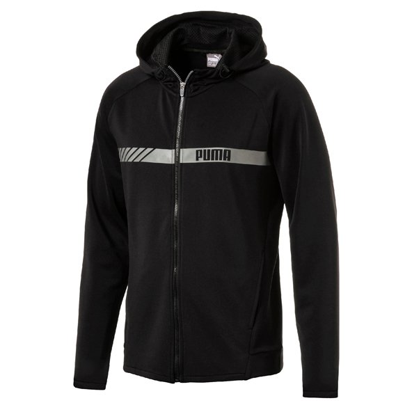 Puma Active Stretch FZ Mens Hoody Black