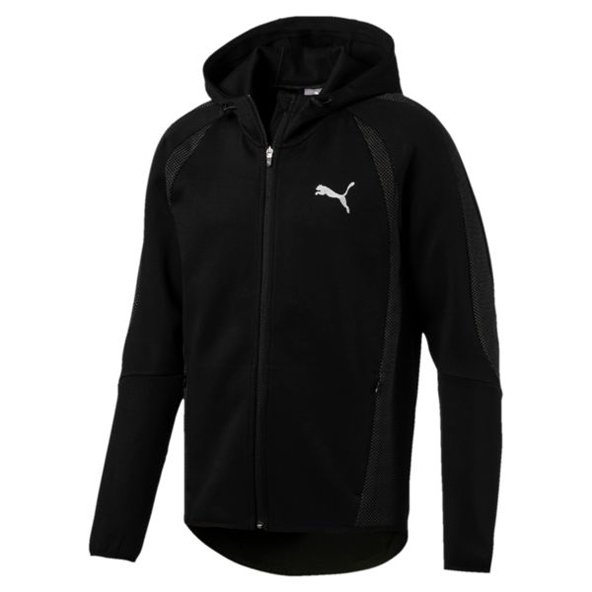 Puma Evostripe Ultimate Men's FZ Hoody, Black