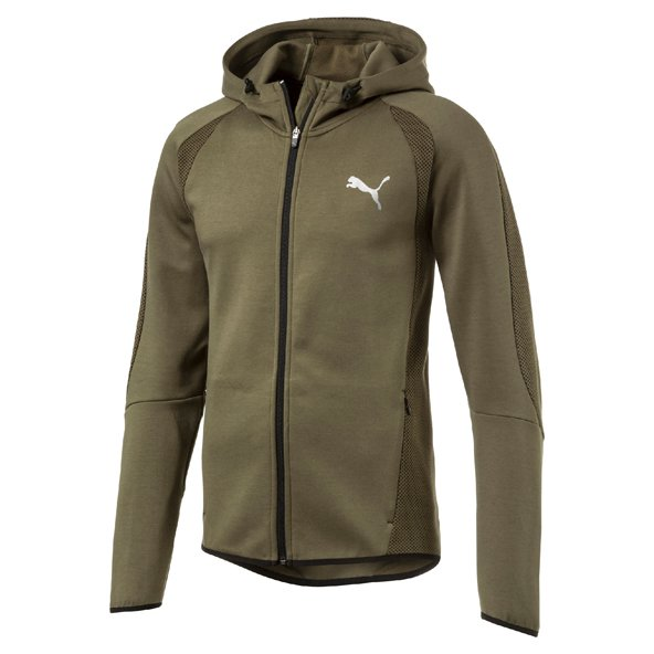 Puma Evostripe Ultimate Men's FZ Hoody, Green